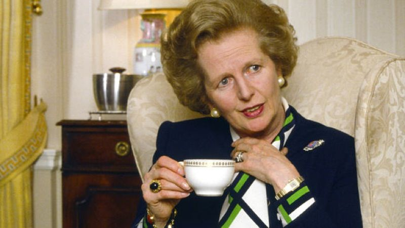 Margaret Thatcher Tea, the Iron Lady herself from Local Tea Company in Sarasota, Florida