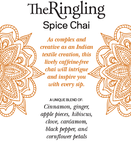 Ringling Spiced Chai Tea Fabrics of India